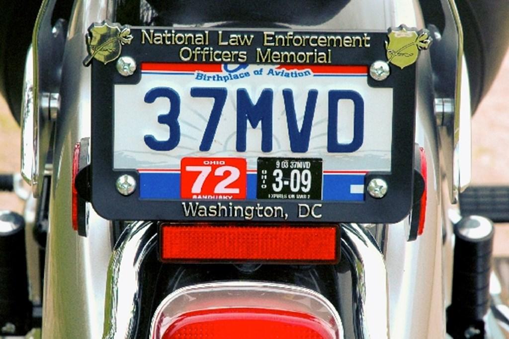 Motorcycle License Plate Frames | Berlekamp Plastic-Ad Line | Since 1929