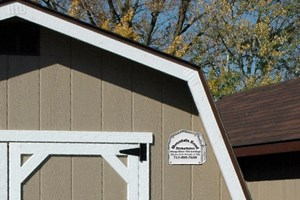 Storage Shed Nameplates